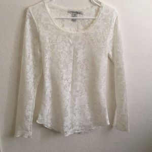 Gorgoies American rag lace top